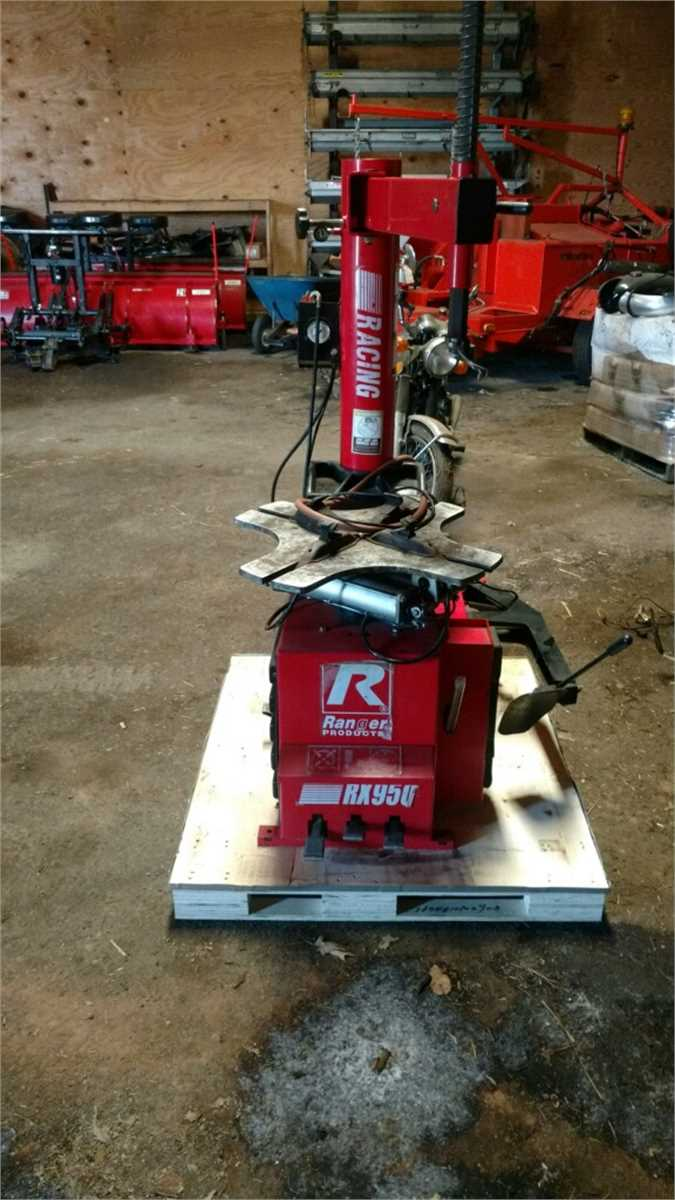 Ranger Products Tire Mounting Machine Online Government Auctions