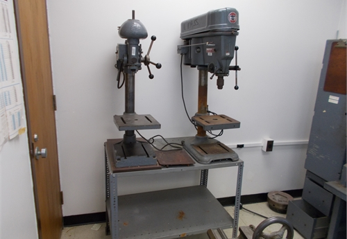 Bench Top Drill Press x 2