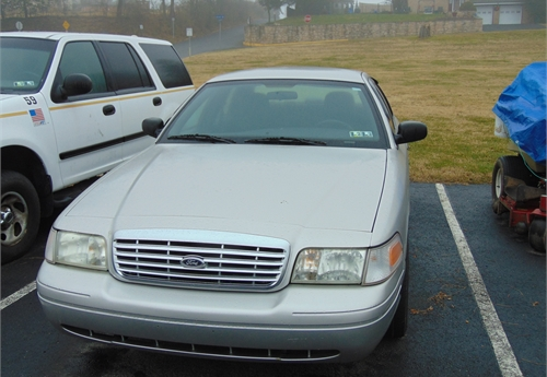 2008 Ford, Crown Victoria, Former Detectives vehicle