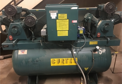 Curtis Air Compressor - 120 Gallon