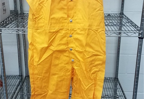 (504-NEW) LARGE COVERALLS (GOLD) / LOT 38-23-C