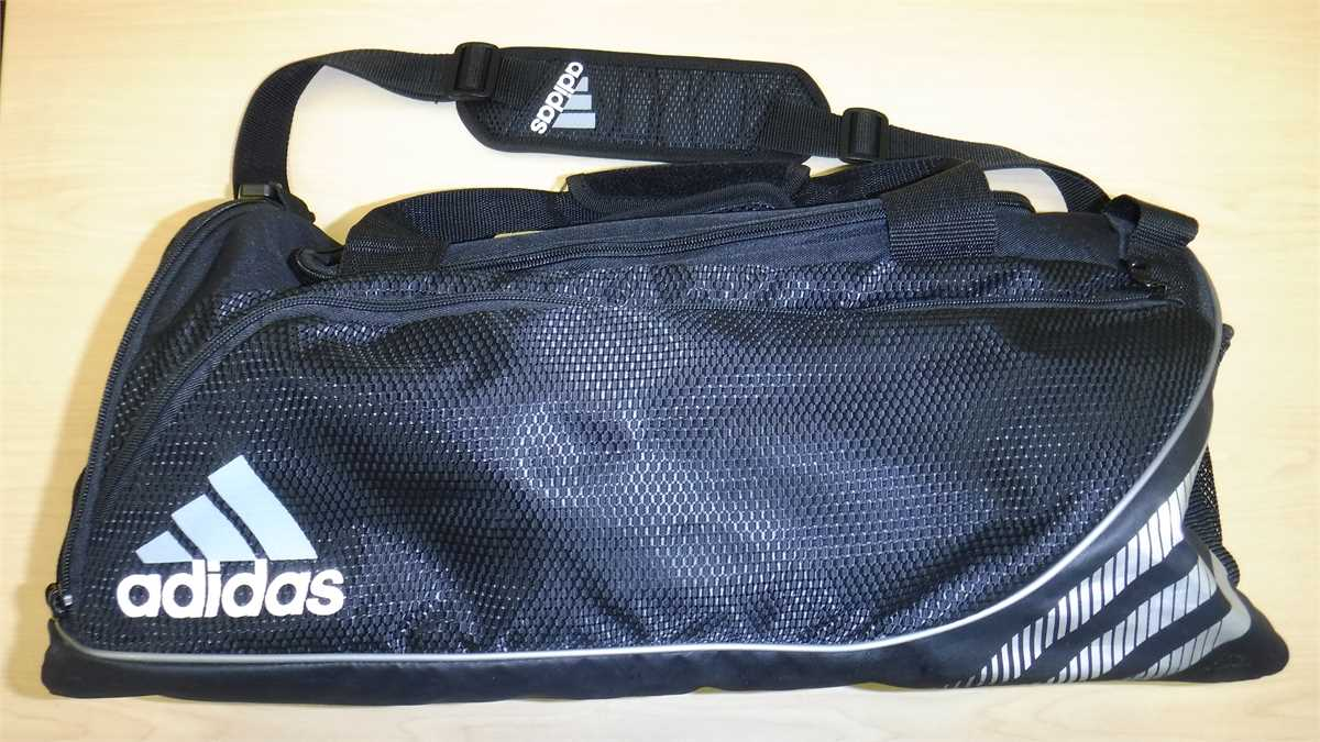 1bc4378724d2 Black Adidas Duffel Bag Online Government Auctions of Government ...