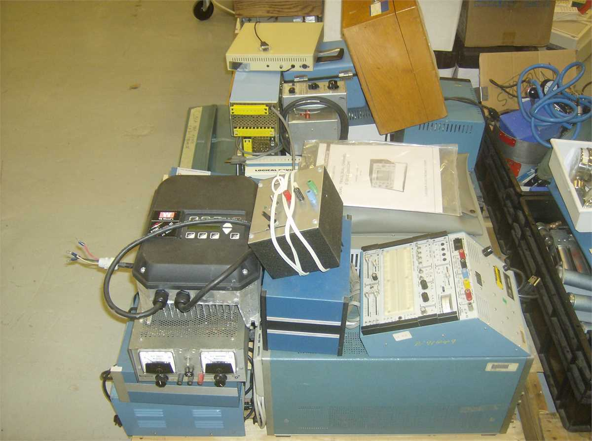 Miscellaneous Electronics Test Eqipment Online Government Auctions