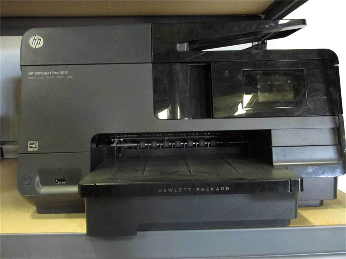HP Officejet Pro Printer 8610 Online Government Auctions of