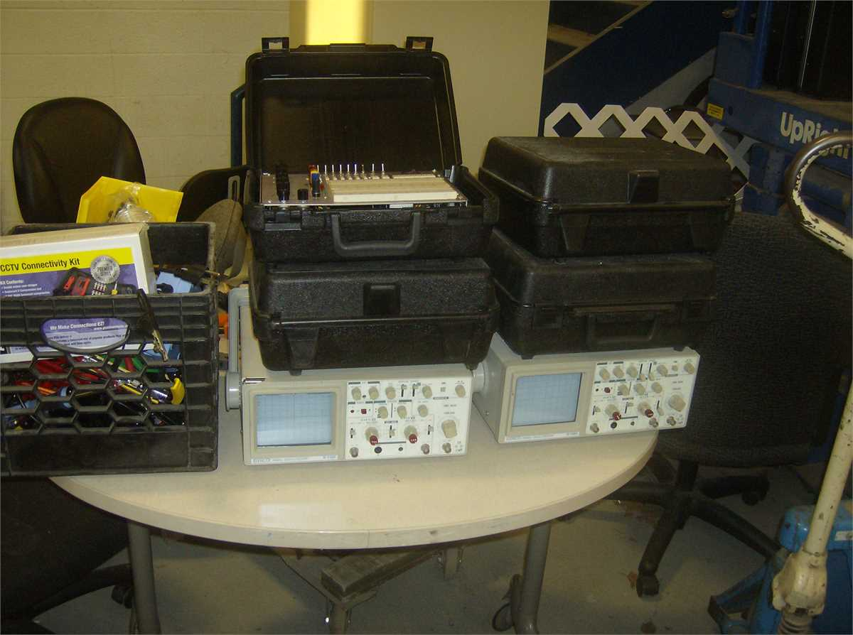 Electronic test equipment 1 Online Government Auctions of