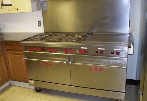 Commercial Electric Restaurant Range - Vulcan