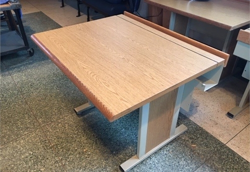 Wooden Work Stations (lot of 10)