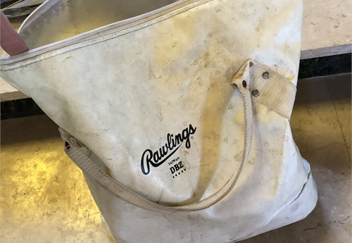 Rawlings Softball Bag and Softballs