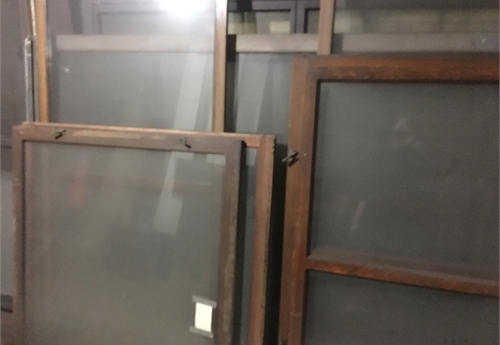 Glass Panels, Doors, Transoms / LOT38-CITYHALL-GLASS
