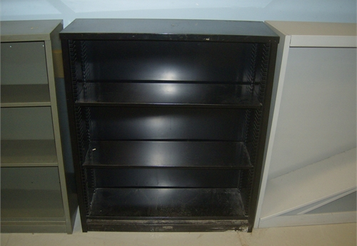 3 - Shelf Metal Book Case 3