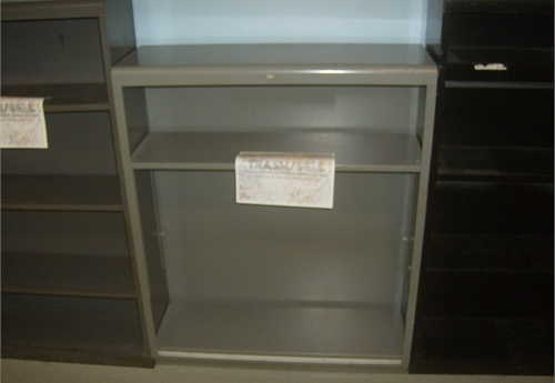 3 - Shelf Metal Book Case 2