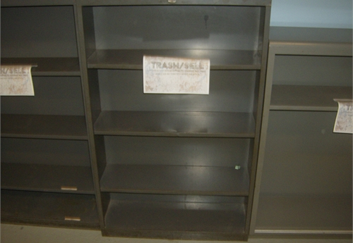 4 - Shelf Metal Book Case 4