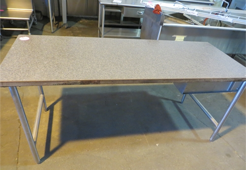 #1926 Table with Formica Top and 1 Drawer