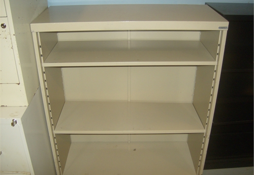 3 - Shelf Metal Book Case 1