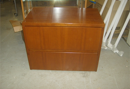 Wood File / 2 draw Cabinet