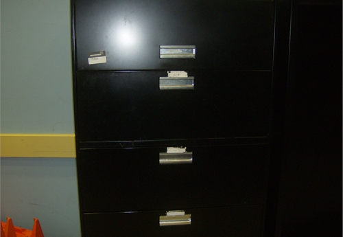 Vertical File Cabinet  A