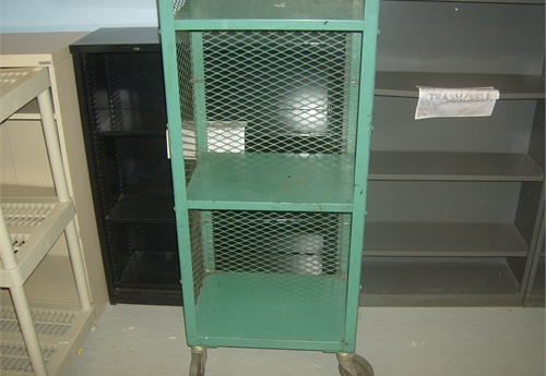 Rolling Wire Shelving 2