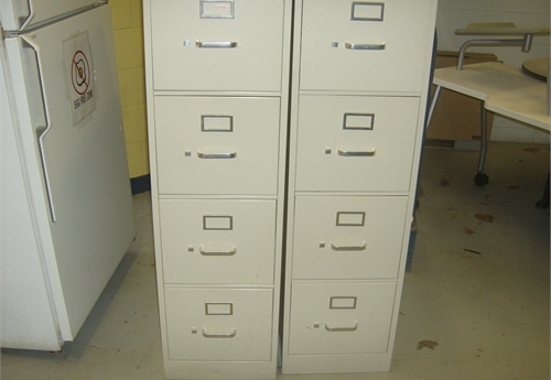 2 - 4 Draw File Cabinets
