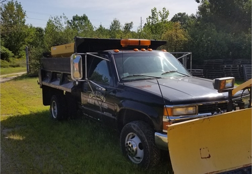 1998 Chevy K3500 Dump with plow