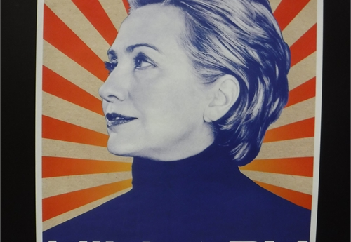 Two Hillary Clinton Posters - New