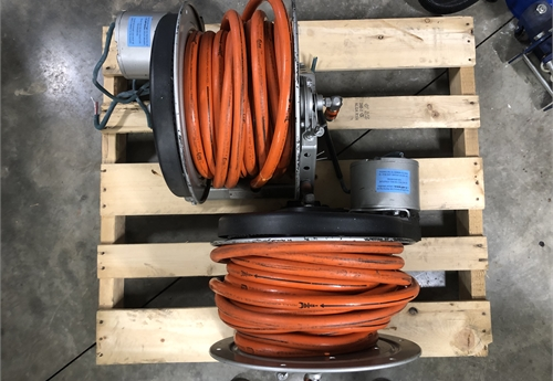 Two (2) Hannay Reel - Holmatro Core