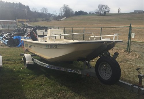 16 foot 2005 Carolina Skiff