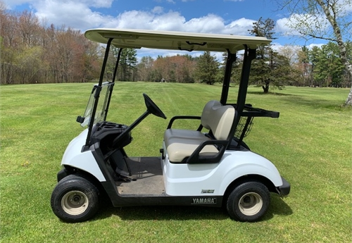 2019 Yamaha YDRA 4 Stroke Golf Cart #2