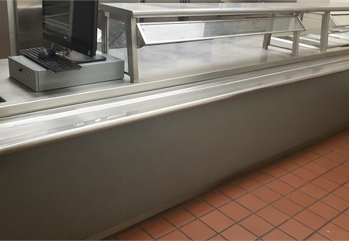 Elementary serving line