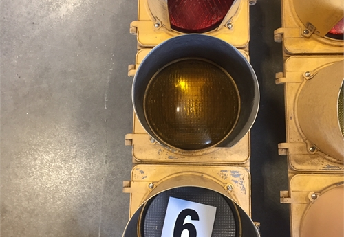 Metal Traffic Light #6