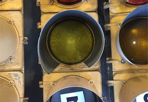 Metal Traffic Light #7