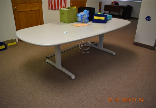 "JOHNSTOWN - QTY (1) 96""L X 36""D CONFERENCE TABLE"