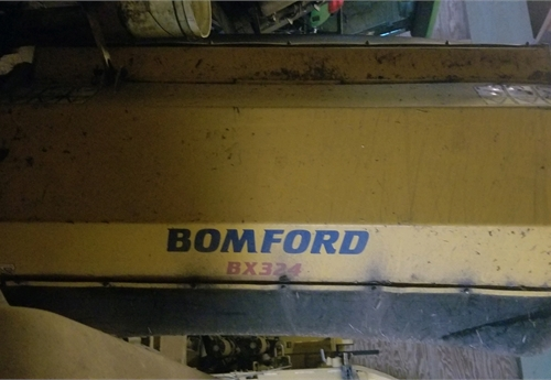 Bomford Model BX324 Flail Mower