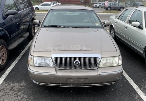 2003 Brown Mercury Grand Marquis