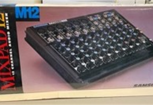 12 CHANNEL AUDIO MIXER