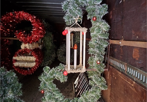 Lantern Christmas Decoration Lot# 4