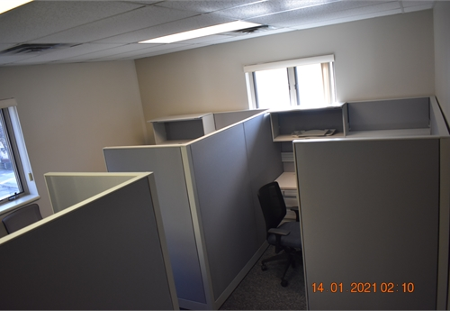 JOHNSTOWN - QTY (3) HON Accelerate Cubicles, 6' x 7'