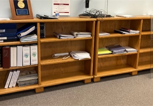 3 Tier Office Shelf