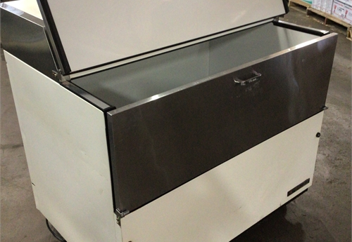 True Model TMC-49 single sided milk cooler